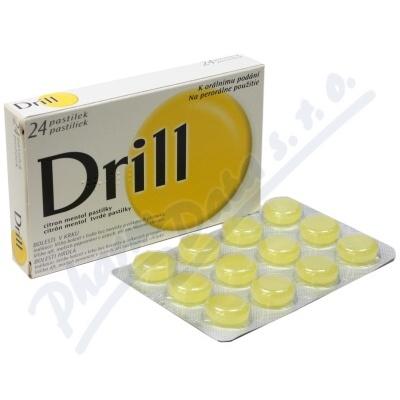 Drill Citron Mentol 3mg/0.2mg pas.24 55