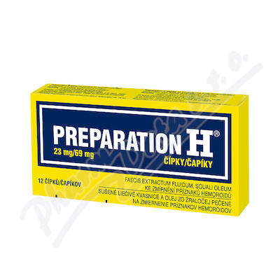Preparation H rct.sup.12