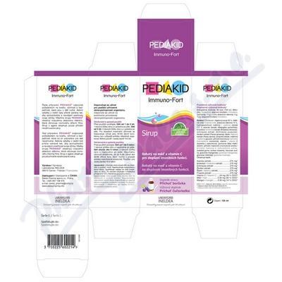 PEDIAKID Pediakid Immuno-Fort 125ml