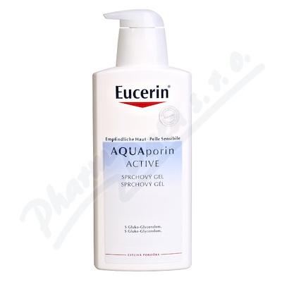 EUCERIN AQUAporin sprchový gel 400ml 63962
