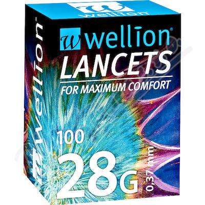 Lancety Wellion 100ks - 28G