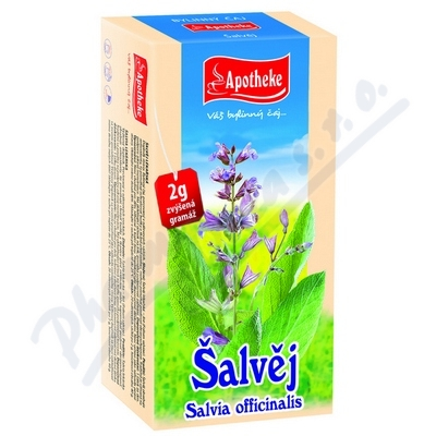 Apotheke Šalvěj lékařská čaj 20x2g