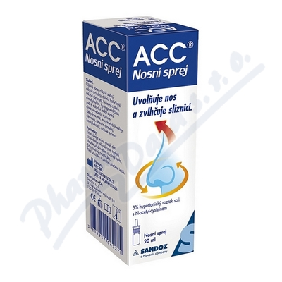 ACC nosní sprej 20ml