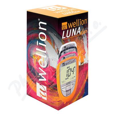 Glukometr Wellion LUNA DUO set bílý