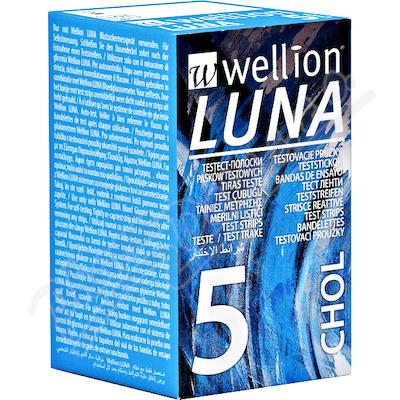 Testovací proužky Luna cholesterol 5ks