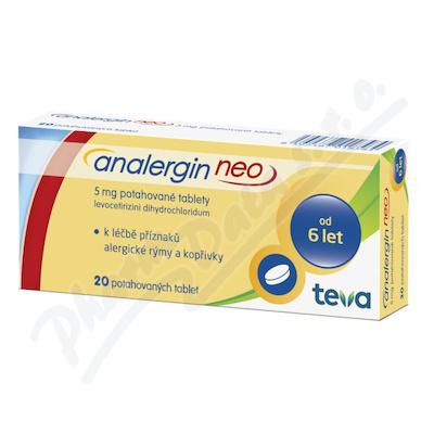 Analergin Neo 5mg por.tbl.flm. 20x5mg