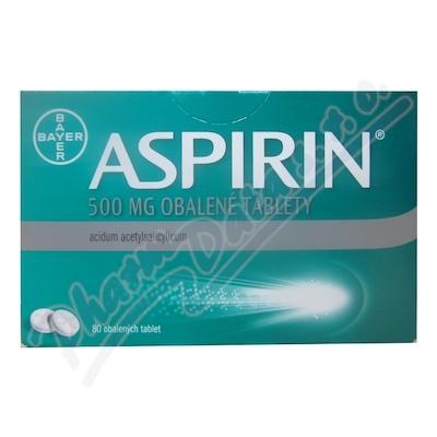 Aspirin 500mg por.tbl.obd.80x500mg