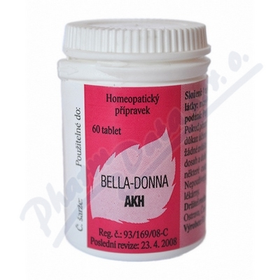 Bella-Donna AKH por.tbl.nob.60