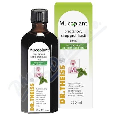 Mucoplant břečťanový sir.proti kašli por.sir.250ml