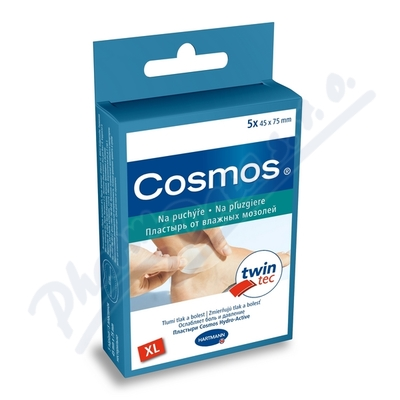 COSMOS náplasti Na puchýře XL Twin tec 45x75mm 5ks