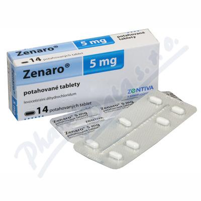Zenaro 5 mg por.tbl.flm. 14IV x5mg