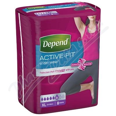 Depend Active-Fit inkont.kalh.ženy vel.XL 8ks