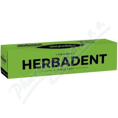 HERBADENT ORIGINAL bylinný gel na dásně 25g NEW