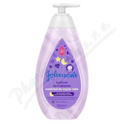 Johnsons Bedtime mycí gel pro dobré spaní 500ml