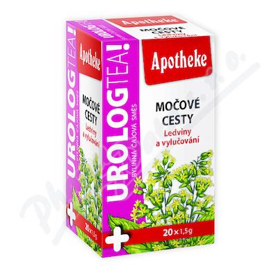Apotheke UrologTea Močové cesty čaj 20x1.5g