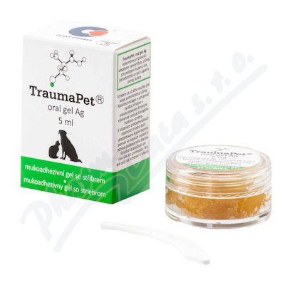 TraumaPet zubní gel s Ag 5ml