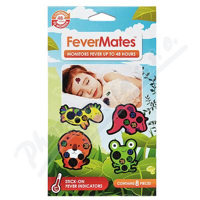 FeverMates nalepovací teploměr 8ks