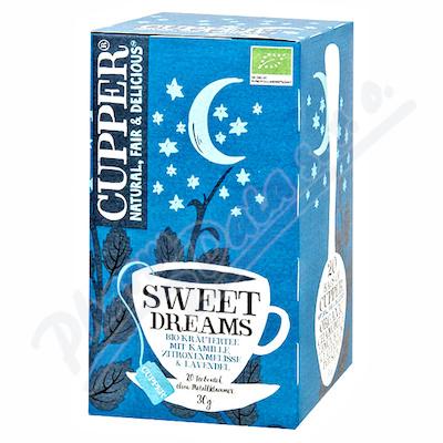 Cupper BIO čaj Sweet Dreams 20 n.s.