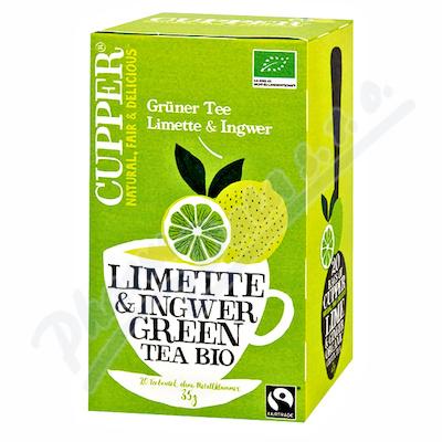 Cupper BIO Lime & Ginger Green Tea 20 n.s.