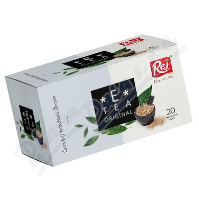 E-Tea Original Černý čaj/YerbaMaté/Ženšen 20x1.5g