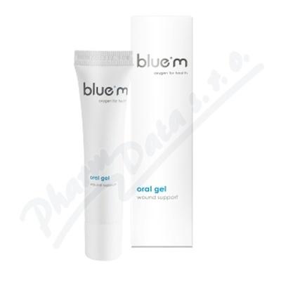 BlueM gel na hojení ran v ústech 15ml
