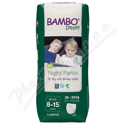 Bambo Dreamy Night Pants 8-15let Boy 35-50kg 10ks