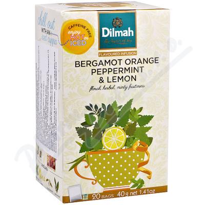 DILMAH Bergamot orange peppermint&lemon n.s.20x2g