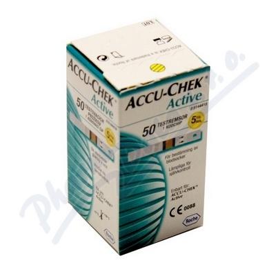 Accu-Chek Active testovací proužky 50ks