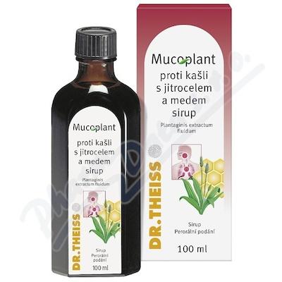 Mucoplant proti kašli s jitrocel.a medem sir.100ml