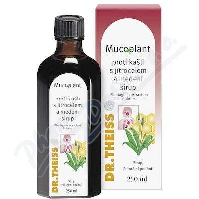 Mucoplant proti kašli s jitrocel.a medem sir.250ml