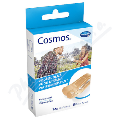 COSMOS náplasti Voděodolná 2vel. 20ks (Water-Res)