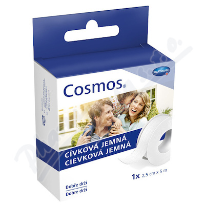 COSMOS cívková jemná náplast 2.5cmx5m 1ks
