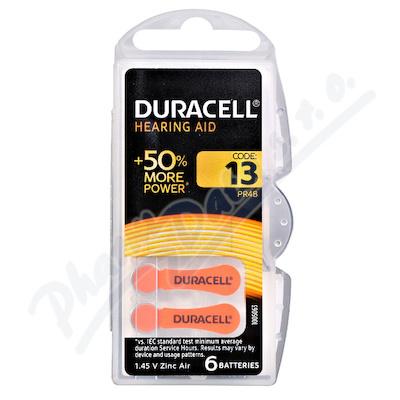 Duracell DA13 PR48 baterie do naslouchadel 6ks