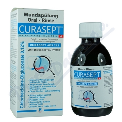 CURAPROX CURASEPT ADS 212 ústní voda 200ml 0.12%
