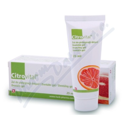 Fytofontana Citrovital Dent.gel pro dospělé 25ml