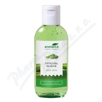 AROMATICA Čistící gel na ruce Aloe Vera 75ml