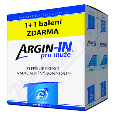 Argin-IN pro muže tob.90 + Argin-IN tob.90 zdarma