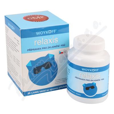 relaxis CANIS sýrová příchuť tbl.60