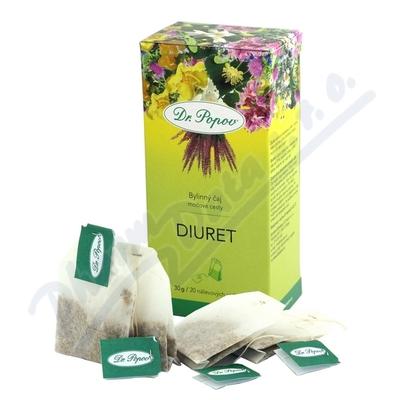 Dr.Popov Čaj Diuret tea 20x1.5g
