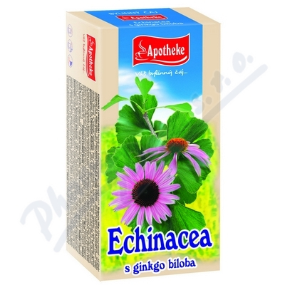 Apotheke Echinacea s ginkgo bilobou čaj 20x1.5g
