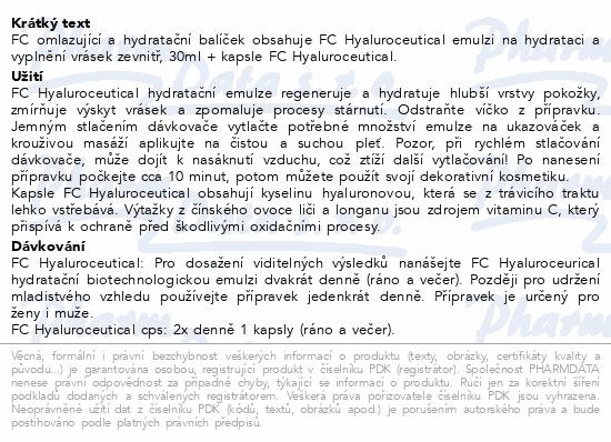 FC Hyaluroceutical 30ml +Hyaluro.cps.60 ZDARMA
