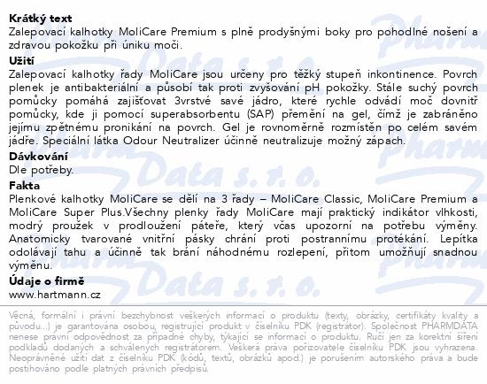 Inkont.kalh.MoliCare Premium 8 kapek XL 14ks