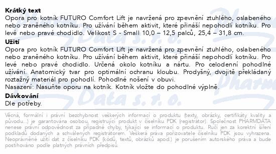 3M FUTURO Bandáž hlezenního kloubu Comfort Lift S