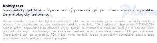 Sonografický gel VITA 500ml